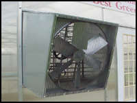 Greenhouse Slant Wall Fan