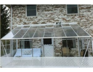 See Thru Polycarbonate Lean To Greenhouse