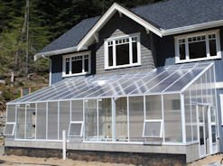 Lean To Attached Greenhouse