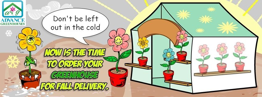 Order Your Greenhouse Now for Fall Delivery