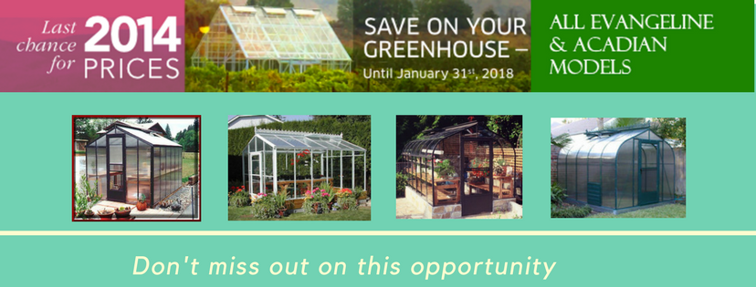 Acadian and Evangeline Greenhouse