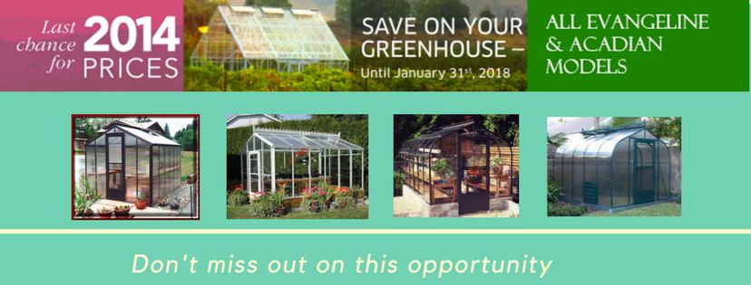 Acadian and Evangeline Greenhouse