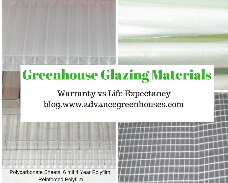 Greenhouse Glazing Materials