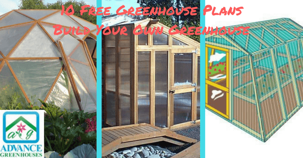 10 Free Greenhouse Plans