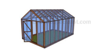 10 x 16 Greenhouse Plans