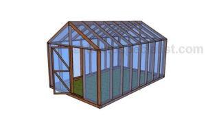 10 x 16 Greenhouse Plans
