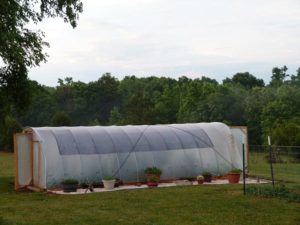 300 Square Foot Hoop House