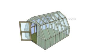 Barn Style Greenhouse Plans