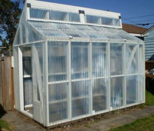 California Style Roof Greenhouse