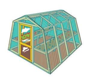 YellaWood Greenhouse Plans